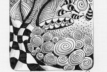 Zentangles© / Doodles - made by myself