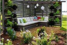 garden ideas by veranda