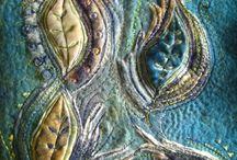 Арт-текстиль / панно, покрывала лоскутные мелочи / by Natalia Andryuschenko