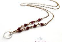 Biżuteria handmade, naturalne minerały, kolczyki, naszyjniki, bransoletki, Warszawa / Warszawska marka biżuterii modowej srebrnej i z naturalnych kamieni