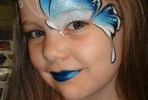 Progetti per pittura del viso
