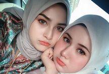 bentuk2 hijab baru