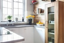 Small kitchens to die for! / Who says small can't be sexy? Here are a few of the compact kitchens we love.
