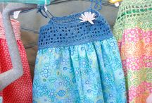 Crochet things for kids / Ideas for kid's jumpers, dresses and other things.