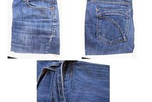 arreglar roba Jeans viejos