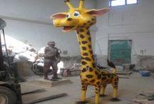 Zürafa Heykelleri