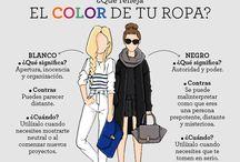 el color en tu ropa  cuando usarlo