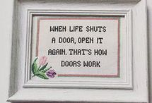 To The Point (needle point humor)