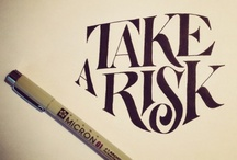 Lettering / by Rosey Hocking
