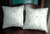 Wedding Dress Quilt reuse