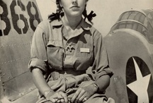My Grandma Lela worked in a WWII factory / by Christine Asby