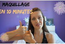 maquillage en live qui prend - de 10 minutes