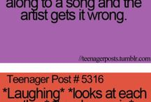 TEENAGE POSTS / So true  :-D