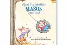 NEW!!  What Big Brother/Sister Does Best Personalized Book / Big brothers and sisters are the best! Show them how important they are with a personal message and their name on every page.  / by I See Me! Personalized Children's Books