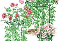 Suporturi flori și legume