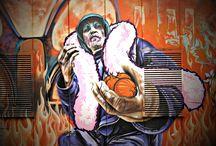 Graffiti characters / Graffiti characters I shot through various countries