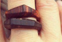biżuteria drewniana