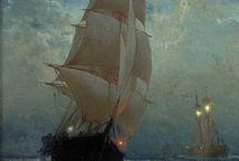 hajók és világítótornyok