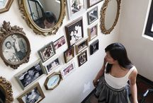 Vintage Photo Wall / by Jacqui Pacheco