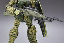 Gundam Custom Ideas / Collection of ideas and inspirations for Custom Gundam from all over Pinterest.