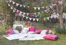 Outdoor Tea Parties / Ideas and Inspiration for a summer vintage outdoor tea party.