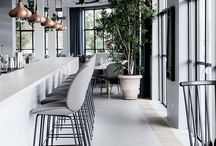 restaurant, Scandinavian design