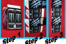 Monster Energy Bedroom / by Denise Cooper