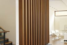 Wood screen