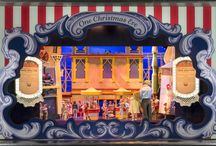 2016 Myer Christmas Windows / Christmas Windows #christmaswindows #myer #retailwindows #3Dprops #stageone
