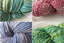 HANDGESPONNEN SPINNEN / Balleeknits handspun yarn