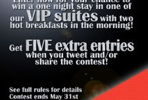 Contests / by Royal Oak Inn & Suites, Brandon Manitoba