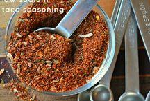 Recipes - Homemade Mixes