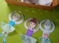 Cupcake liner craft idea / Cupcake liner craft idea for kids,parents and preschool teachers.