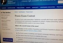 SLP Praxis Information/Resources