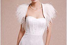 Tops / Bolero's, shawls etc voor witte jurk