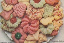 Jello spritz cookies