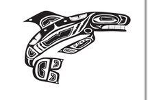 Native Alaskan Art / Native American/Native Alaskan Indian Art