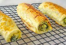 spinach & ricotta rolls