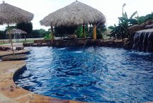 Trinity Valley Pools / Examples of some of our finished swimming pool projects.