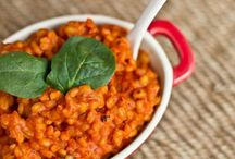 Recipes - Mains / All recipes are vegan/vegetarian or can be easily adapted.