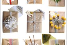 {crafts} gift wrapping