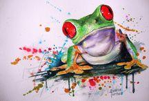 Frog Tats