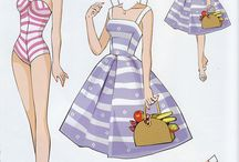 Lalki z papieru - ubieranki