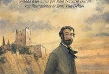 Gustavo Adolfo Bécquer - Vida y obra / Libros para niños que recogen la vida y la obra de Gustavo Adolfo Bécquer.