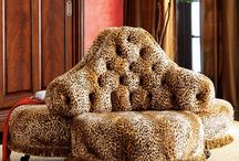 leopard furniture / huis