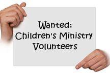 Kids Ministry- volunteers / by Jancy