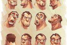 Characters / by Aidan Neeson