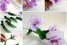 Fleurs collant