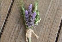 Buttonholes  / Buttonholes and corsages for weddings.