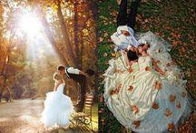 Autumn wedding pics